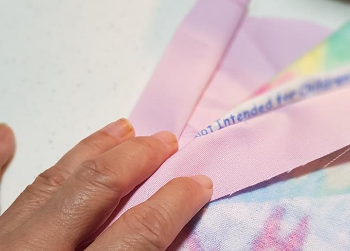Mermaid's Tail - Waistband sewing